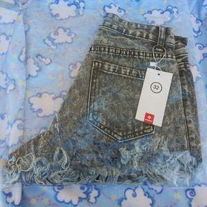 Denim - catonATOZ 1809 Women's Fashion denim shorts Hot Su